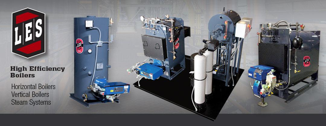 L.E.S Boilers | Horizontal Boilers | Vertical Boilers – High ...